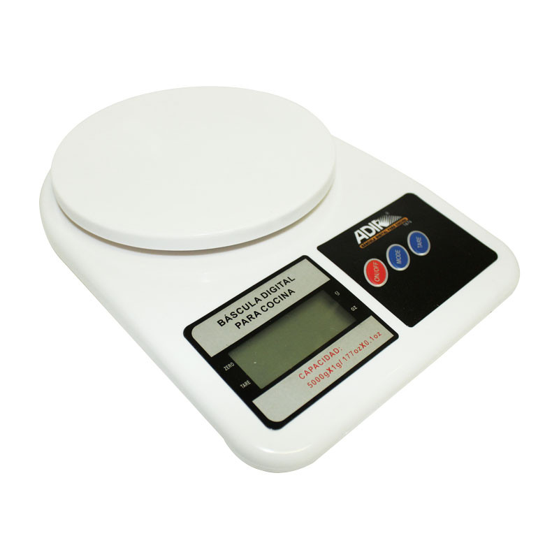 B scula digital para cocina 5 kg 1676 adir - Bascula digital carrefour ...