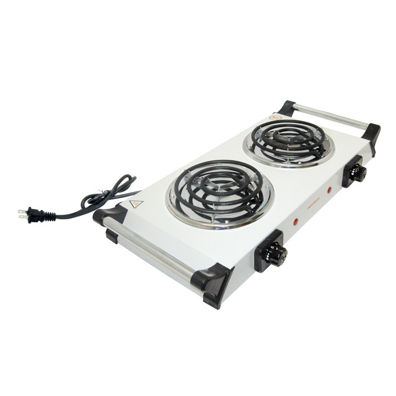 Parrilla eléctrica doble con asa Light Shock