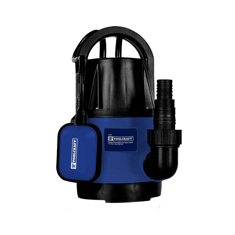 Bomba sumergible 1/2 HP para agua limpia Toolcraft